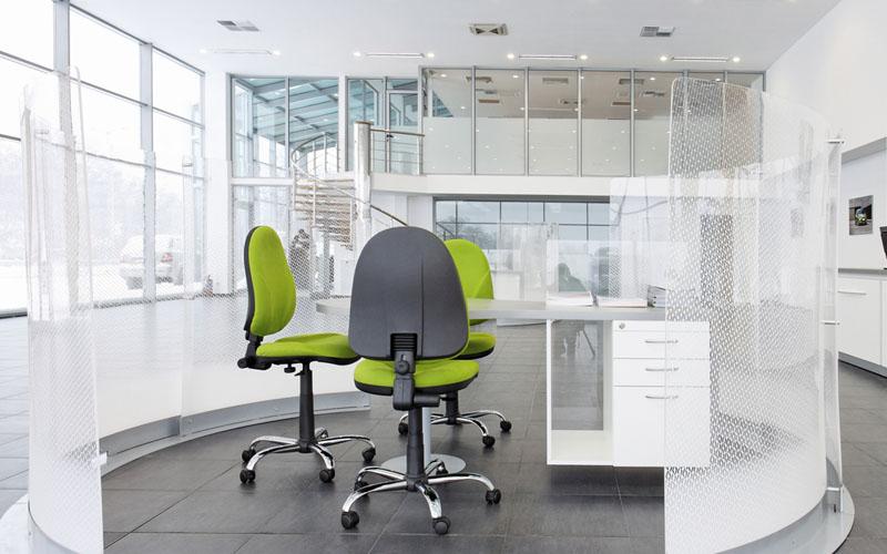 כסא משרדי ירוק